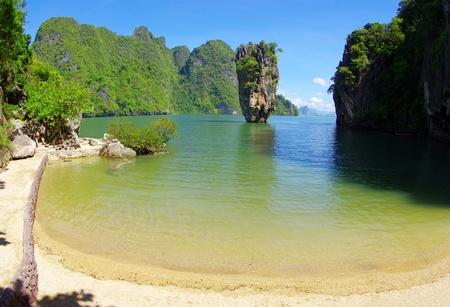 james bond island in thailand, ko tapu Stock Photo - 13127591
