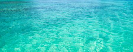 Beautiful water of a tropical sea photo
