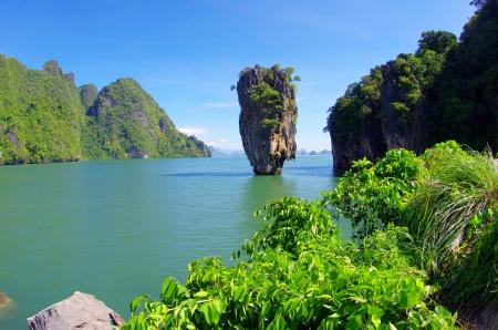 koś: james bond island in thailand, ko tapu