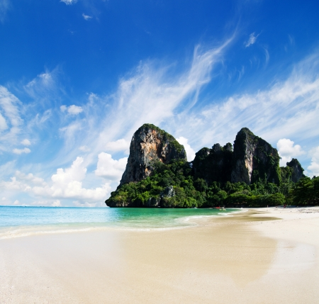Exotic landscape in Thailand, Krabi photo