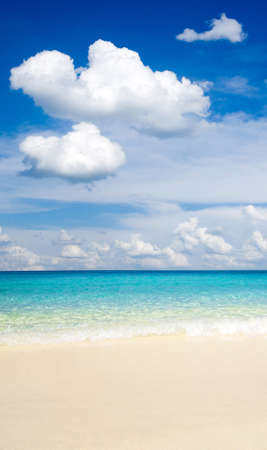 beautiful beach and tropical sea Stock Photo - 13838730
