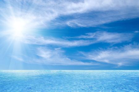 タイの海と完璧な空