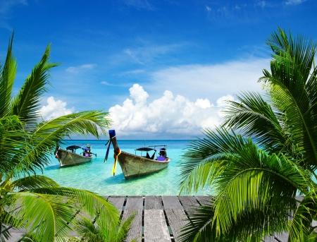 美しいビーチと熱帯の海 写真素材 - 15532582