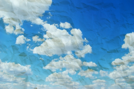 retro image of cloudy sky Stock Photo - 15635840