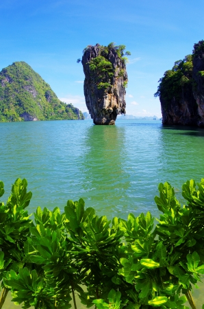 James Bond Island, Phang Nga, Thailand Stock Photo - 15636393