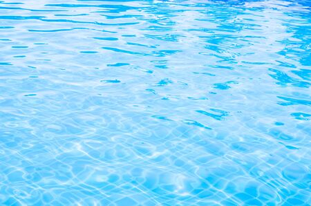 Blue Pool Water Background Photo