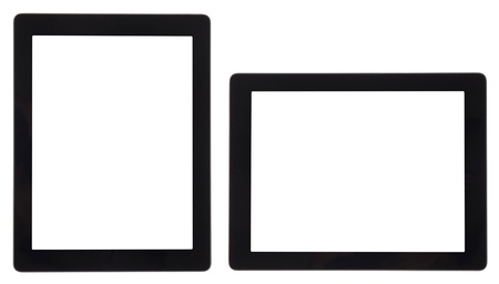 tablet computer isolated on white Stock Photo - 15814534