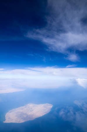Aerial sky and clouds background Stock Photo - 17463541