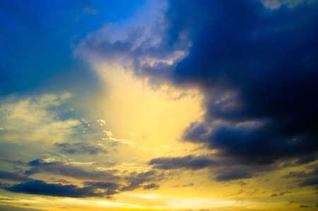 sky background on a sunrise Stock Photo - 17570661