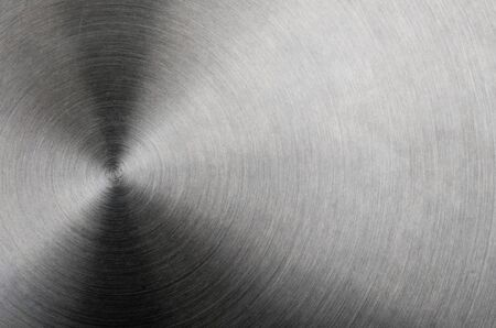 brushed aluminum: Brushed aluminum metal with bright highlights Stock Photo