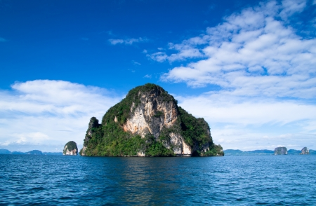 landscape of tropical island Thailand photo