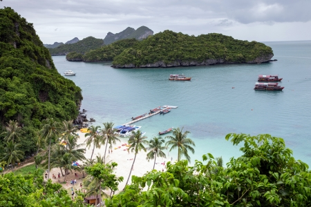 Angthong national marine park close to Koh Samui, Thailand photo