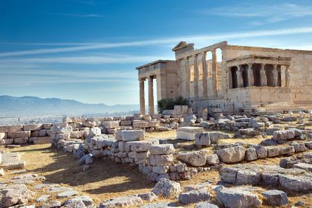 Parthenon on the Acropolis in Athens, Greece photo