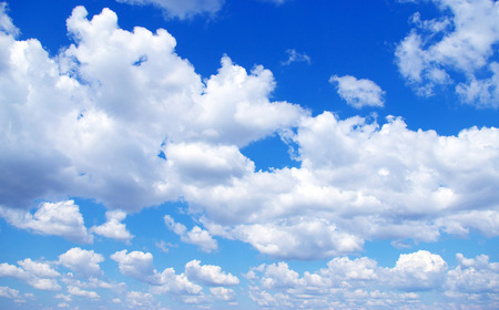 blue sky: Blue sky with a tiny clouds Stock Photo