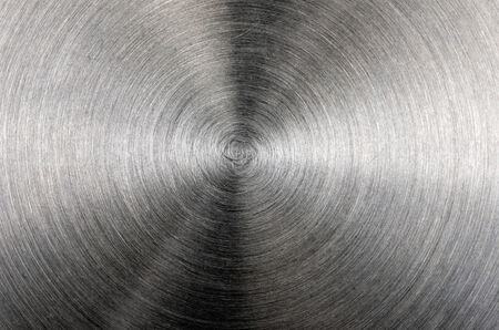 brushed aluminum: Brushed aluminum with bright highlights