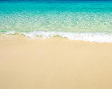 sand of beach tropical sea