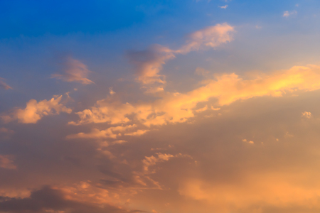 dispel: Blue sky background with a tiny clouds