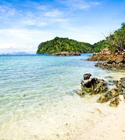 landscape of tropical sea photo