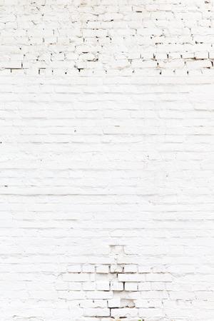 背景やテクスチャの白いレンガの壁 写真素材