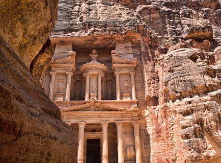 petra  jordan: Al Khazneh in Petra, Jordan