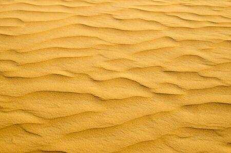 texture du sable dans le désert d'or Banque d'images