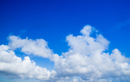 nebulosity: clouds in the blue sky