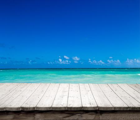 beautiful beach and tropical sea Archivio Fotografico