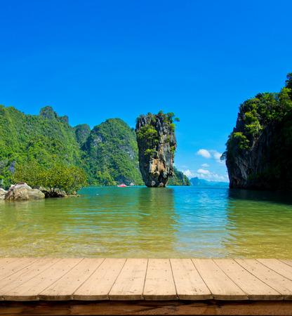 ko: james bond island in thailand, ko tapu