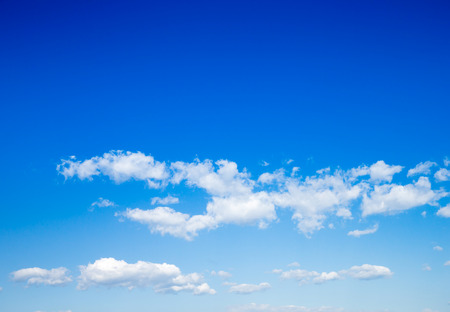 fleecy: sky background with a tiny clouds