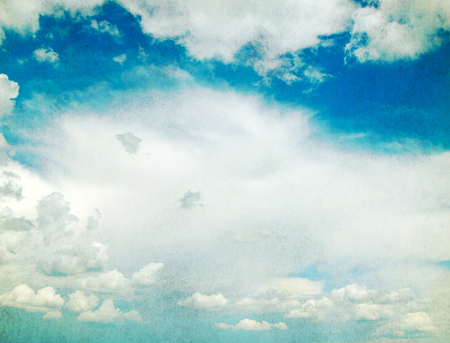 clouded: Blue Sky background with tiny clouds
