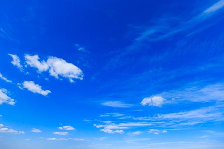 sky background with tiny clouds Фото со стока