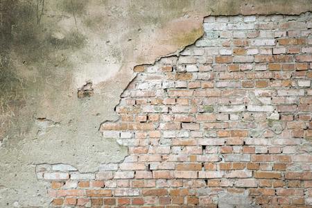 ceglana ściana na tle lub tekstury Zdjęcie Seryjne