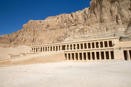 egypt: The temple of Hatshepsut near Luxor in Egypt
