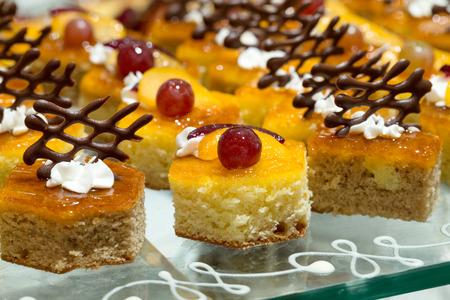 variety: A variety of cakes Stock Photo