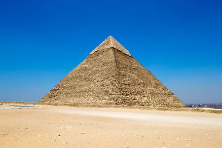 ピラミッド エジプトのカイロでギザの美しい空を。