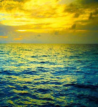 maldives island: Sunset on Maldives island