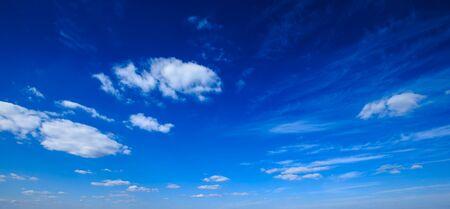 cumuli: clouds in the blue sky