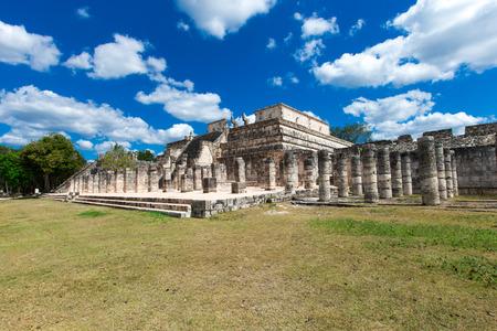 itza: Chichen Itza feathered serpent pyramid, Mexico