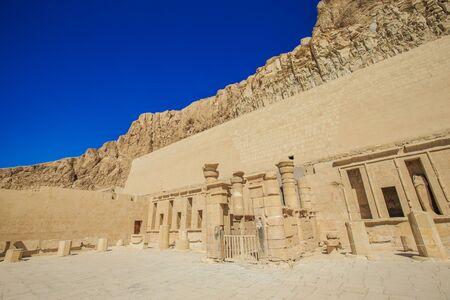 near: The temple of Hatshepsut near Luxor in Egypt