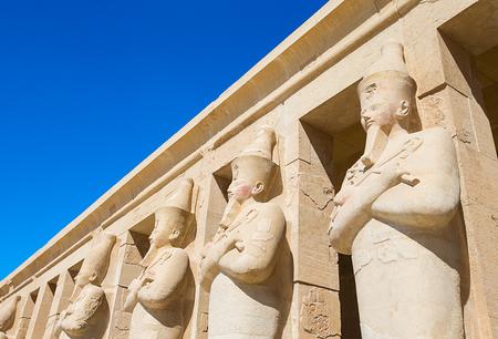 temple: The temple of Hatshepsut near Luxor in Egypt
