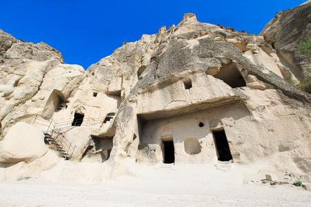 cappadocia: mountain landscape. Cappadocia, Anatolia, Turkey.