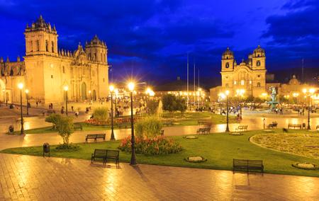la compania: Cusco City Centre Peru South America Stock Photo