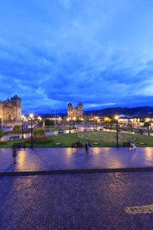 cusco: Cusco City Centre Peru South America Stock Photo