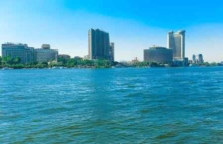 the nile: River Nile of Cairo
