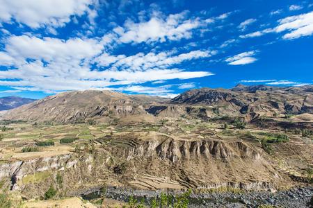 nevado: landscape in Andes.  Peru.