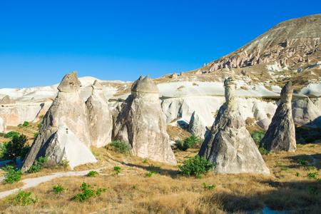 anatolia: mountain landscape. Cappadocia, Anatolia, Turkey.