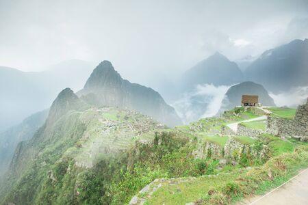 past civilization: Machu Picchu