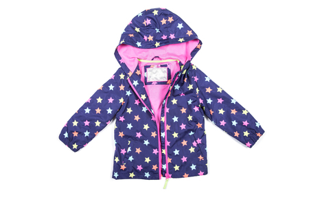 jupe: childrens jacket isolated on white Stock Photo