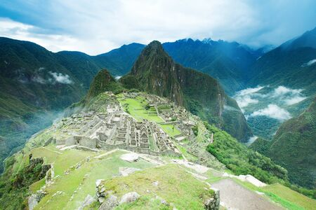 heritage: Machu Picchu, a UNESCO World Heritage Site