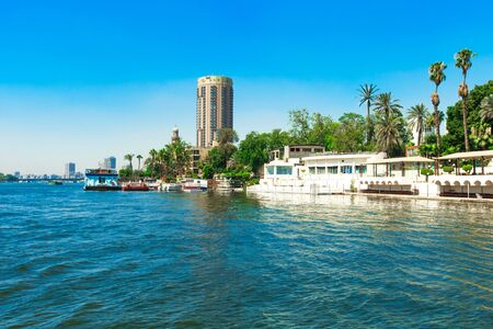 the nile: Nile river of Cairo